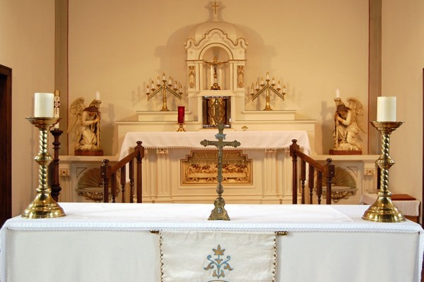 St. William Church altar