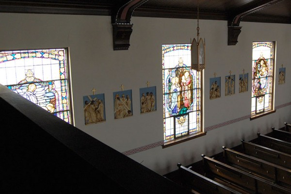 St. William Church windows