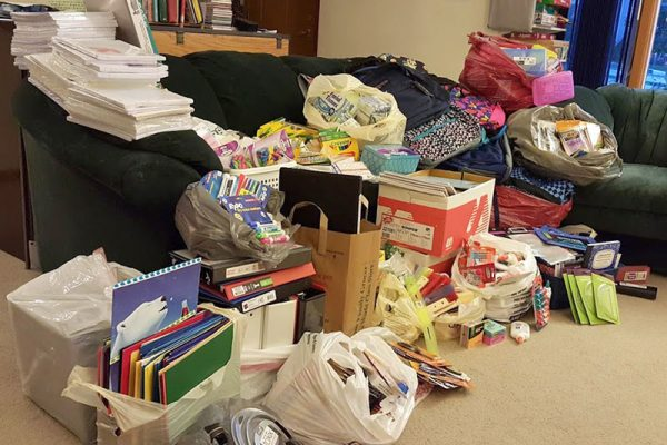 St. Vincent de Paul School Supplies Drive 2015