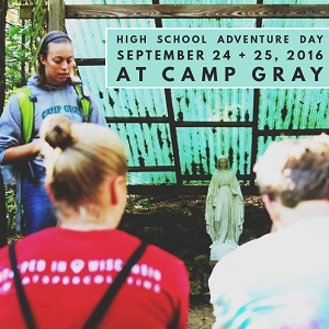 High School Camp Gray Adventure Day