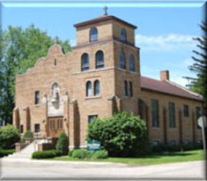 St. William Church in Paoli, Wisconsin